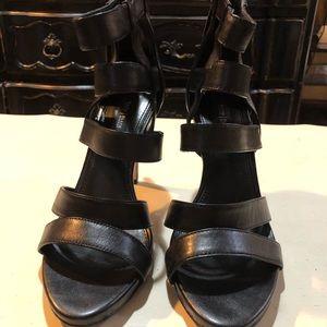 White House Black Market cage-style heel
